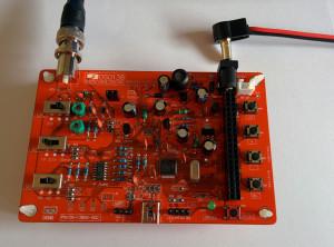 DSO138 Bausatz Bauteile