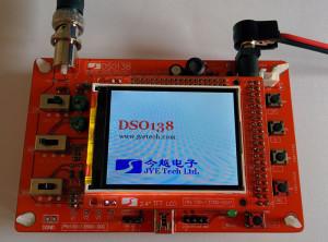 DSO138 Bausatz Startbildschirm